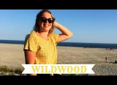 WEEKEND NAD OCEANEM-DELFINY PLAŻA WILDWOOD| USA 2017