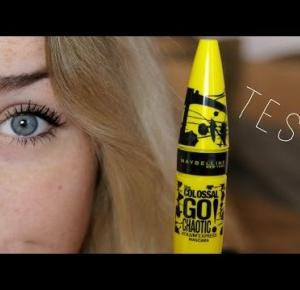 TEST| MAYBELLINE CHAOTIC MASCARA