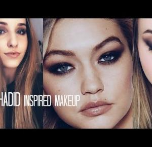 Gigi Hadid inspired makeup | WiktoriasChannel