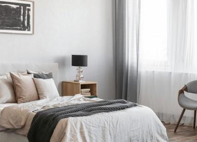 Jak dobrać firany i zasłony do sypialni? - Wnętrza dla Ciebie