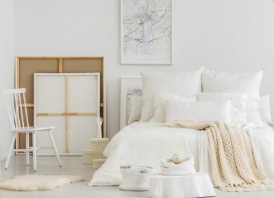 Stylowa i przytulna sypialnia w bloku – pomysły i inspiracje - Wnętrza dla Ciebie