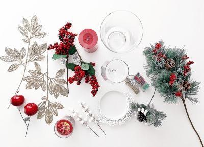 [DIY] 3 pomysły na ozdoby świąteczne | Woman's Space