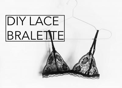 BLA: DIY lace bralette