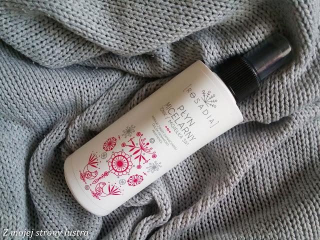 Płyn micelarny/tonik/mgiełka 3w1 Rosadia - recenzja   Z mojej strony lustra - blog kosmetyczny