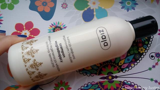 Z mojej strony lustra: Kuracja olejkami arganowym i tsubaki Ziaja: szampon wzmacniający + skoncentrowana maska wygładzająca