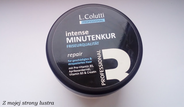 Z mojej strony lustra: L. Colutti jednominutowa maska do włosów