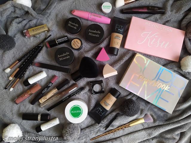 #BLOGERKIPOLECAJĄ Przegląd moich kolorowych kosmetyków i codzienny makijaż   Z mojej strony lustra - blog kosmetyczny