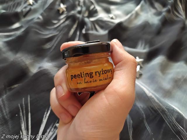 Bathbee peeling ryżowy na bazie miodu   Z mojej strony lustra - blog kosmetyczny
