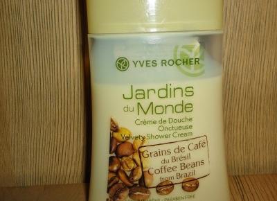 Z mojej strony lustra: Kawowy żel pod prysznic Yves Rocher