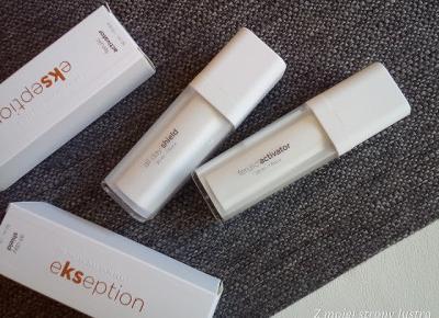 Kremy do twarzy z kwasem ferulowym marki Ekseption | Z mojej strony lustra - blog kosmetyczny