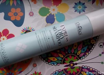 Z mojej strony lustra: Ekspresowy suchy szampon do włosów L'biotica