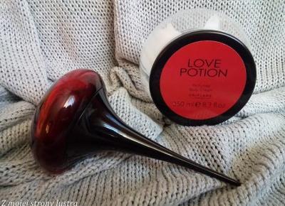 Z mojej strony lustra: Perfumowany krem do ciała Love Potion od Oriflame