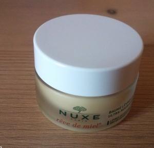Z mojej strony lustra: Nuxe: Balsam do ust w słoiczku