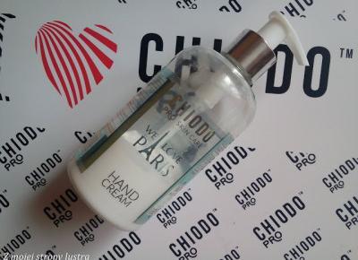 ChiodoPRO Perfumowany krem do rąk We Love Paris | Z mojej strony lustra - blog kosmetyczny