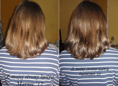 Z mojej strony lustra: Włosy w kwietniu