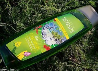 Orzeźwiający żel pod prysznic Avon Senses Rio Cocktail (limonka, rum i mięta) | Z mojej strony lustra - blog kosmetyczny
