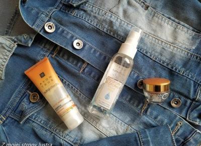 HotNotyAvon: serum, mgiełka i krem koloryzujący do twarzy | Z mojej strony lustra - blog kosmetyczny