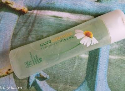 Z mojej strony lustra: Yves Rocher Rumiankowy żel do mycia twarzy Pure Calmille