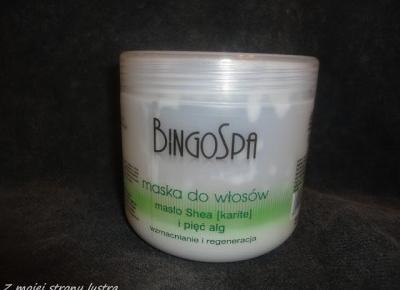 BingoSpa maska do włosów masło Shea i pięć alg | Z mojej strony lustra - blog kosmetyczny