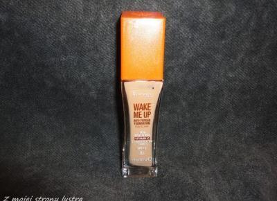 Wake Me Up! Rozświetlający podkład Rimmel | Z mojej strony lustra - blog kosmetyczny