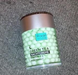 Z mojej strony lustra: Krem na noc Rival de Loop Zielona Herbata