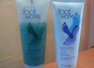 Z mojej strony lustra: Duet Avon foot works