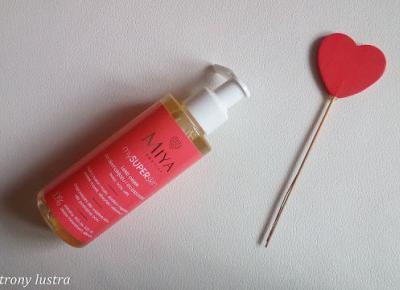 MIYA Lekki olejek do demakijażu i oczyszczania mySUPERskin | Z mojej strony lustra - blog kosmetyczny