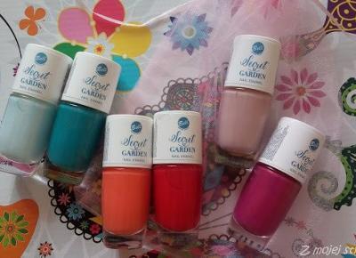 Sześć kolorowych buteleczek, czyli Sekretny Ogród Bell | Z mojej strony lustra - blog kosmetyczny