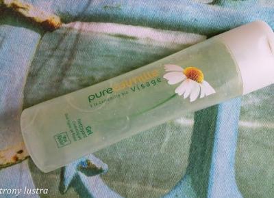 Yves Rocher Rumiankowy żel do mycia twarzy Pure Calmille | Z mojej strony lustra - blog kosmetyczny