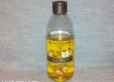 W świątecznym klimacie: Yves Rocher żel pod prysznic i do kąpieli jabłko w karmelu (edycja limitowana) | Z mojej strony lustra - blog kosmetyczny