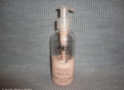 Avon planet spa: Rewitalizująca kremowa emulsja do oczyszczania twarzy z chińskim żeń-szeniem | Z mojej strony lustra - blog kosmetyczny