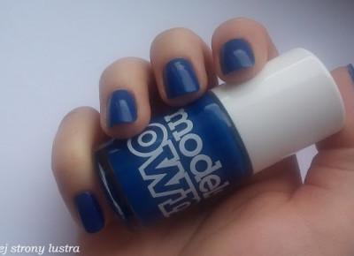 Lakier do paznokci Models Own True Blue | Z mojej strony lustra - blog kosmetyczny