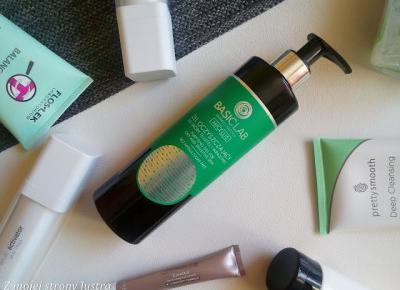 Żel oczyszczający do skóry tłustej i wrażliwej Micellis od BasicLab | Z mojej strony lustra - blog kosmetyczny