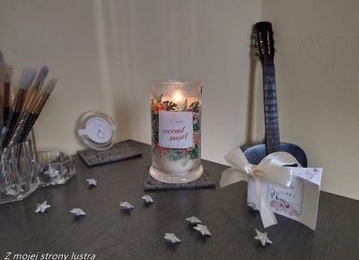 Świeca z niespodzianką, czyli SurpriseCandle o zapachu Coconut Sunset | Z mojej strony lustra - blog kosmetyczny