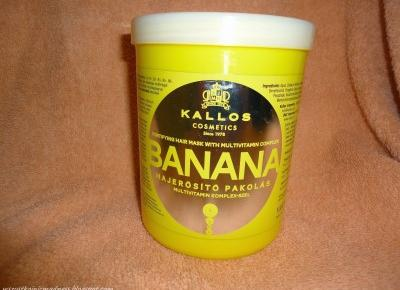 Z mojej strony lustra: Maska do włosów Kallos Banana