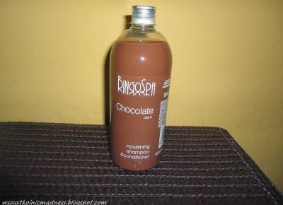 Z mojej strony lustra: Czekoladowe chwile z BingoSpa - szampon z odżywką