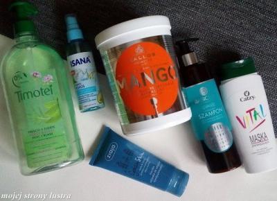 Moja aktualna pielęgnacja włosów #2 | Z mojej strony lustra - blog kosmetyczny