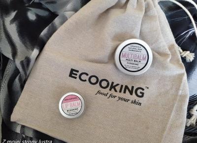 Ecooking balsam do ust i balsam multifunkcyjny | Z mojej strony lustra - blog kosmetyczny