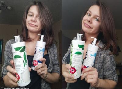 VisPlantis: szampon do włosów osłabionych + odżywka do włosów cienkich (d/s) | Z mojej strony lustra - blog kosmetyczny