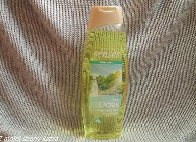 Żel pod prysznic Avon Senses Pure Oasis Zielona herbata i mięta | Z mojej strony lustra - blog kosmetyczny