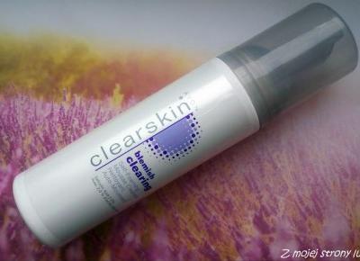 Z mojej strony lustra: Avon clearskin Oczyszczająca pianka do mycia twarzy przeciw wypryskom