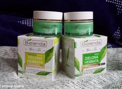 Bielenda Zielona herbata kremy na dzień i na noc | Z mojej strony lustra - blog kosmetyczny