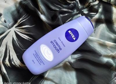 NIVEA Pielęgnujący żel pod prysznic Creme Smooth | Z mojej strony lustra - blog kosmetyczny