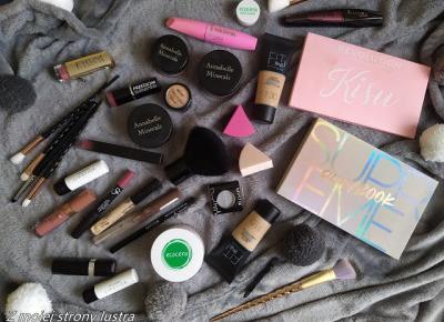 #BLOGERKIPOLECAJĄ Przegląd moich kolorowych kosmetyków i codzienny makijaż | Z mojej strony lustra - blog kosmetyczny