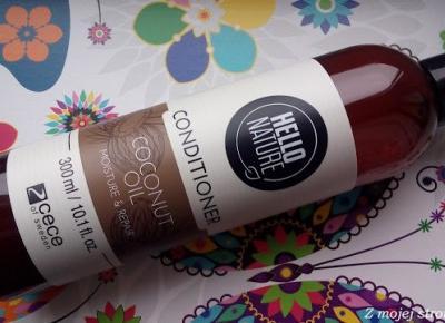 Odżywka olejek kokosowy Cece of Sweden Hello Nature nawilżenie i odbudowa (d/s) + Serum multifunkcyjne Floslek | Z mojej strony lustra - blog kosmetyczny