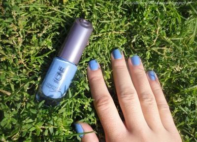 Z mojej strony lustra: Lakier Oriflame The One Breeze Blue
