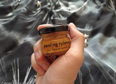 Bathbee peeling ryżowy na bazie miodu | Z mojej strony lustra - blog kosmetyczny