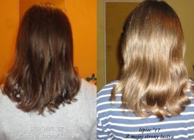 Z mojej strony lustra: Włosy w lipcu