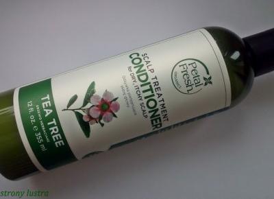 Z mojej strony lustra: Petal Fresh Odżywka pielęgnująca skórę głowy Tea Tree (d/s)