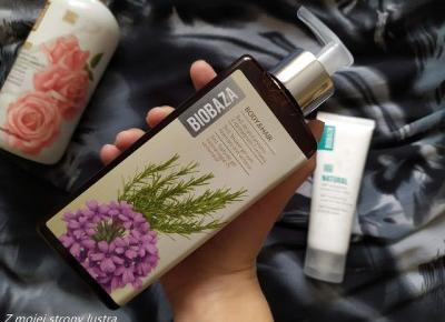 BIOBAZA 3w1 żel pod prysznic z rozmarynem i werbeną - recenzja | Z mojej strony lustra - blog kosmetyczny